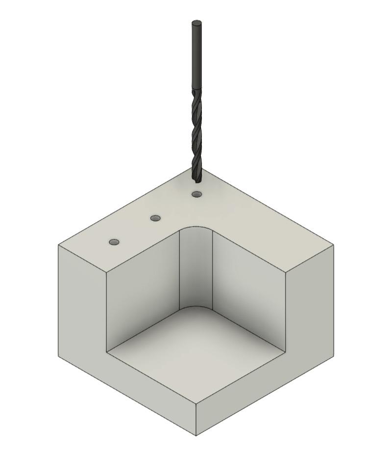 CNC Fräsen - Bohren