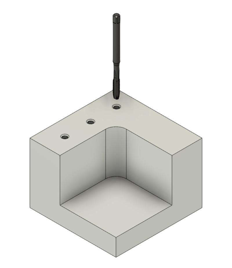 CNC Fräsen - Gewindebohren