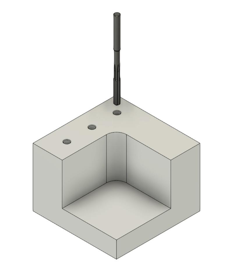 CNC Fräsen - Reiben