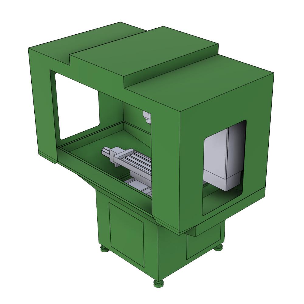 CNC Fräse Modell